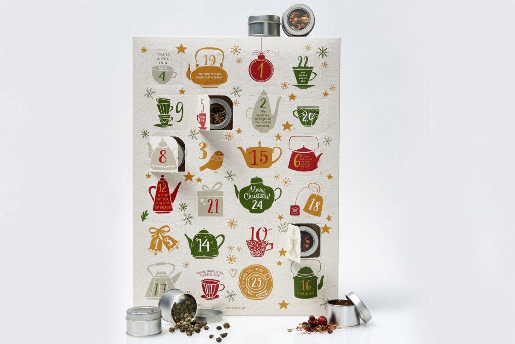 Calendari Avvento Natale 2019 food Demmers Teehaus tè infusi