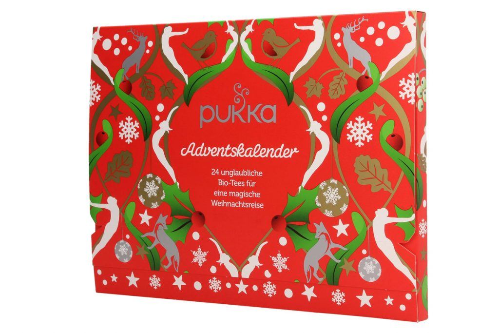 Calendari Avvento Natale 2019 food Pukka tisane