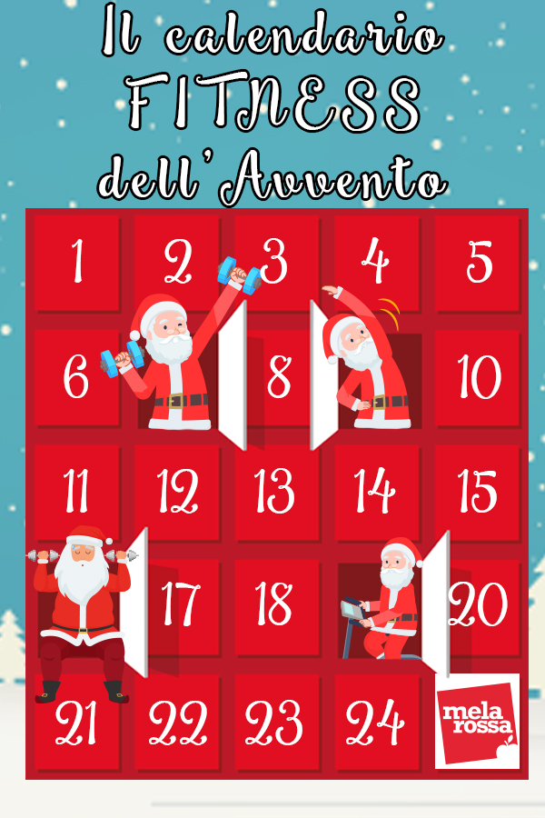 calendario dell'avvento fitness
