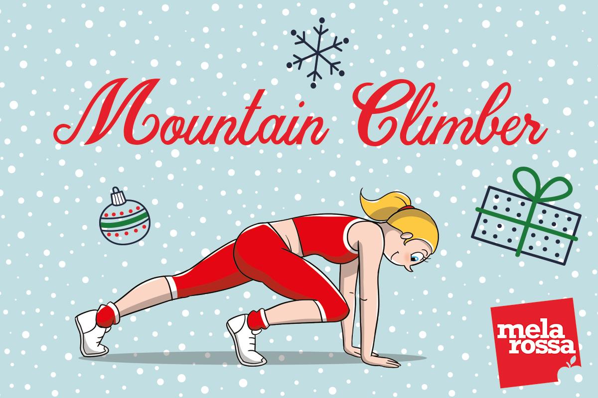 calendario dell'avvento: mountain climber