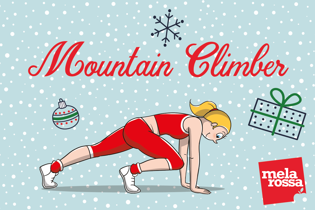 calendario dell'avvento: mountain climber