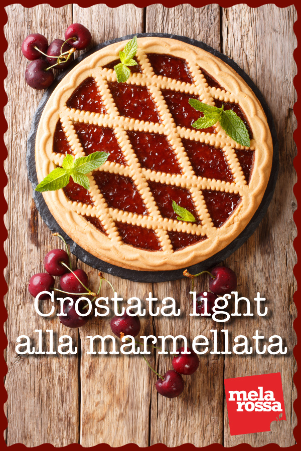 crostata light marmellata