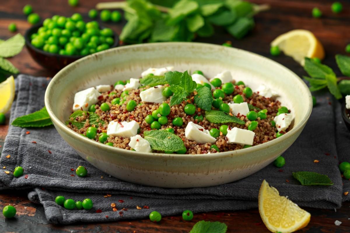 dieta vegetariana: cereali e legumi