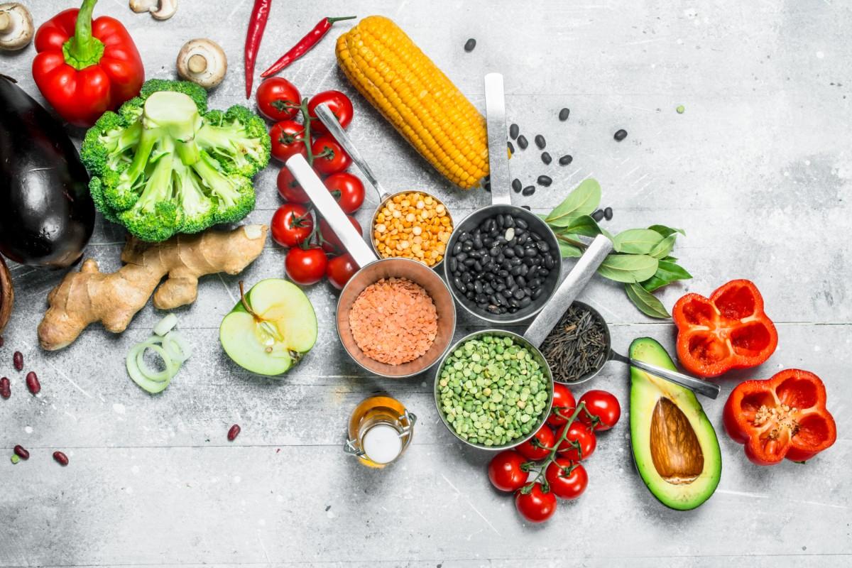 modello di dieta vegetariana