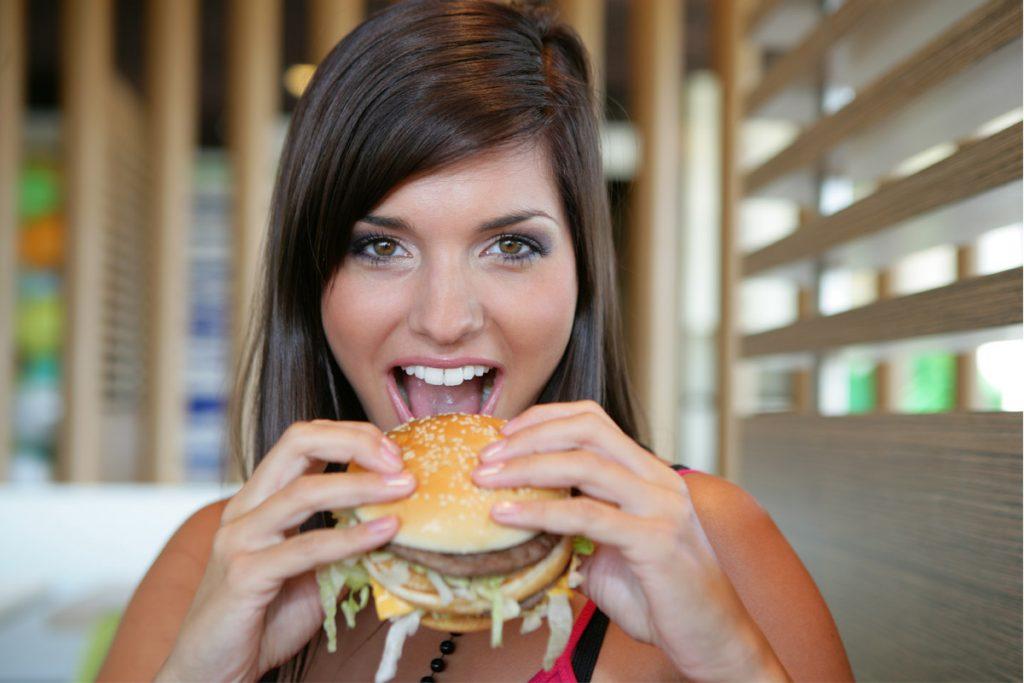 Hamburger vegetale di finta carne