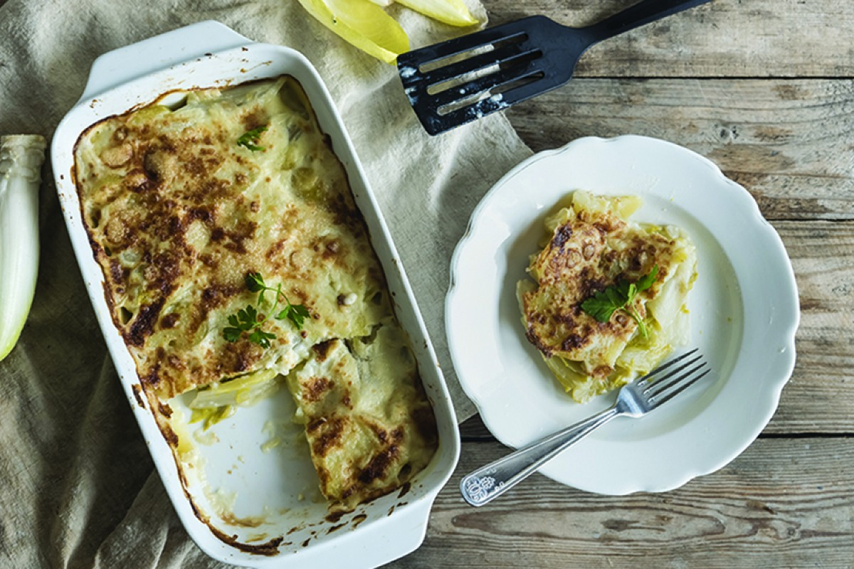 indivia belga patate gratin