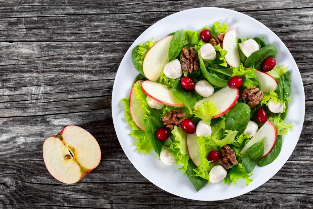 insalate autunnali verdura frutta stagione ricette