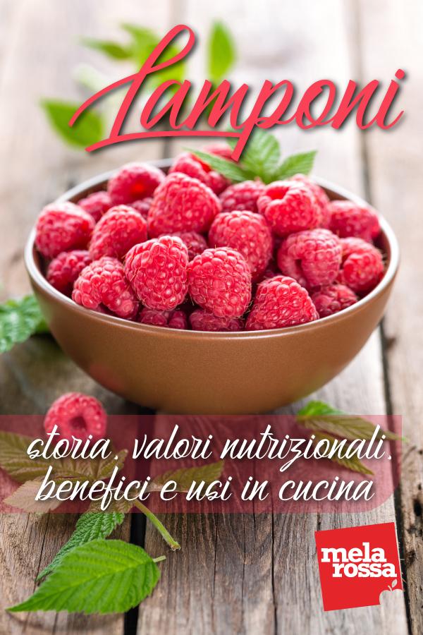 lamponi: benefici e ricette