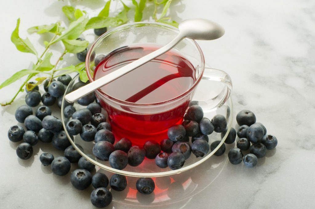 cibi ricchi di antiossidanti. mirtilli