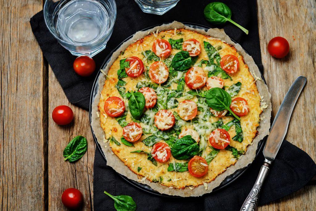 pizza con base di cavolfiore ricetta