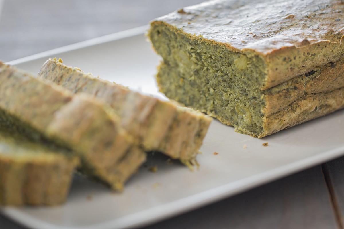 ricette con spinaci: plumcake