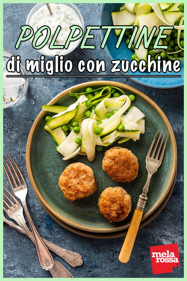 polpettine miglio zucchine