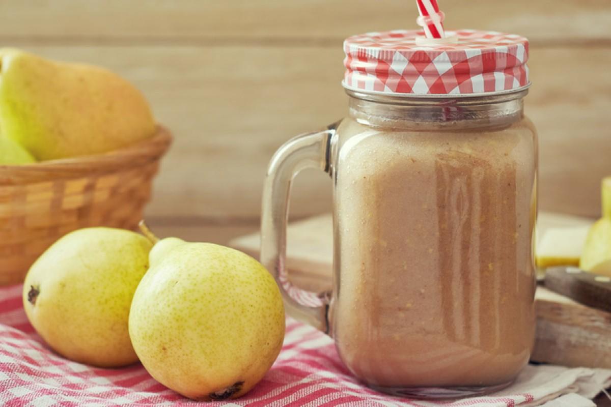 smoothie pere radicchio miele