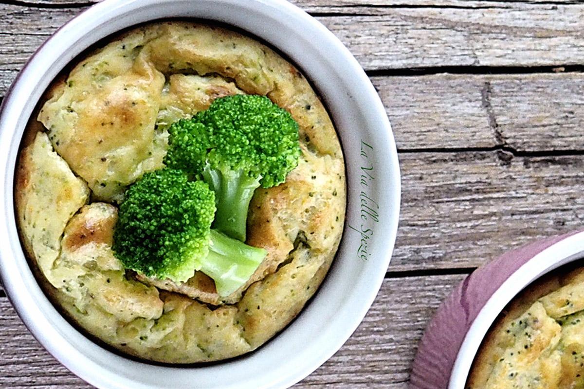 Ricette con i broccoli: sformati broccoli e ricotta