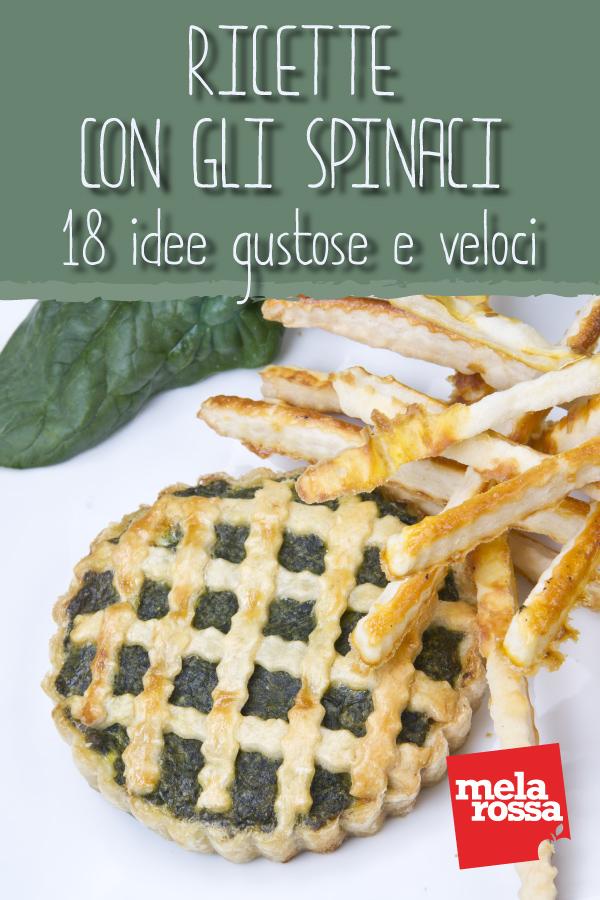 ricette con spinaci light e sane