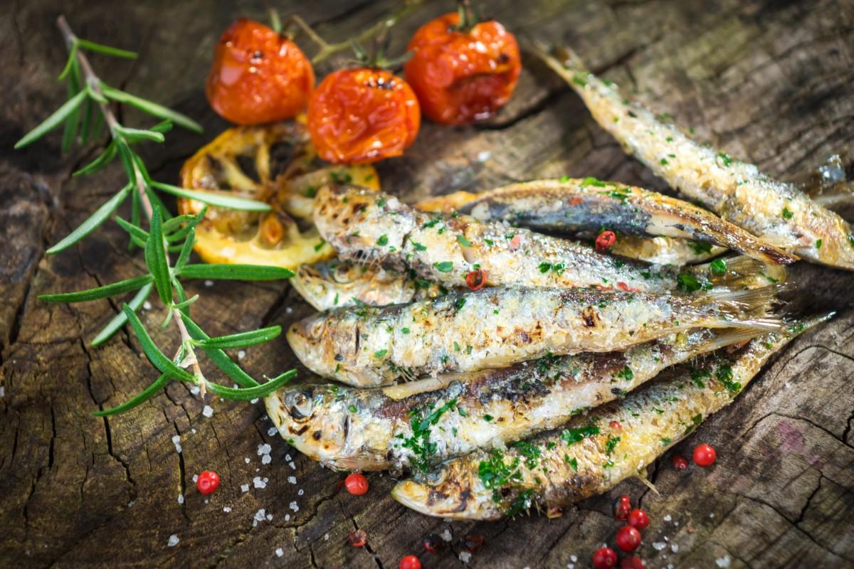 dimagrire in menopausa: sardine
