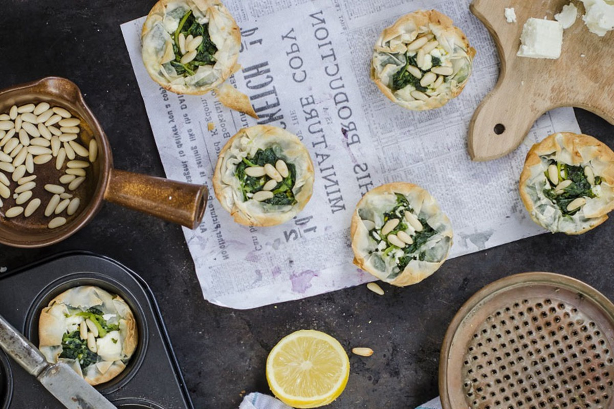 ricette con spinaci: tortino salato
