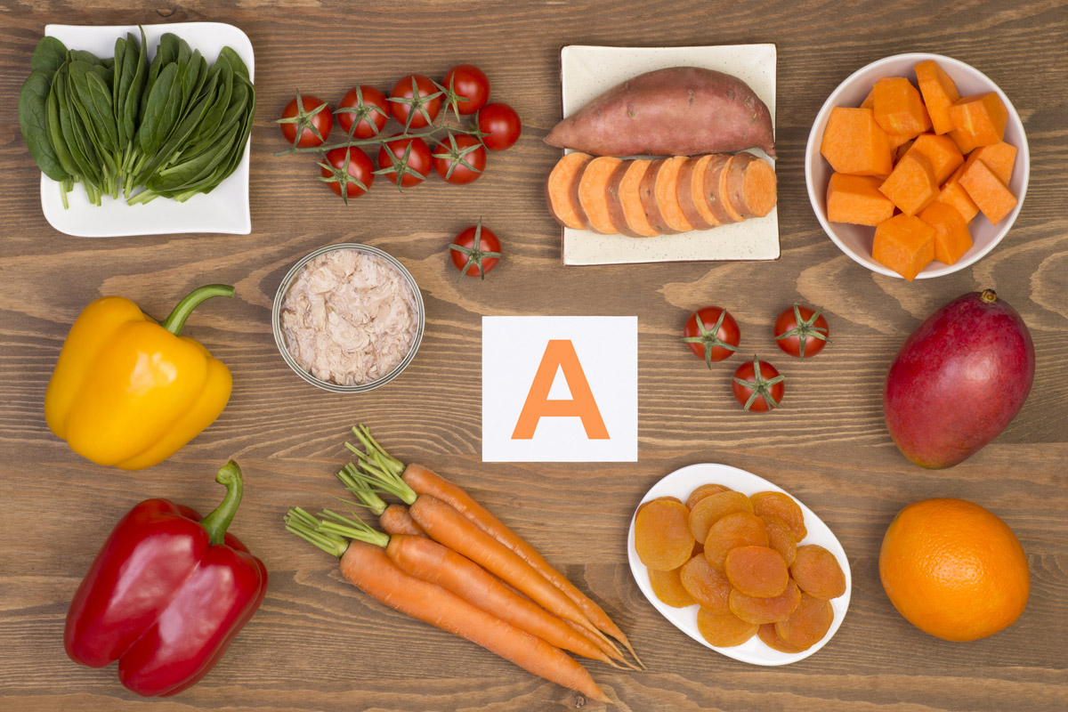 Vitamina A: benefici, proprietà, cibi che la contengono