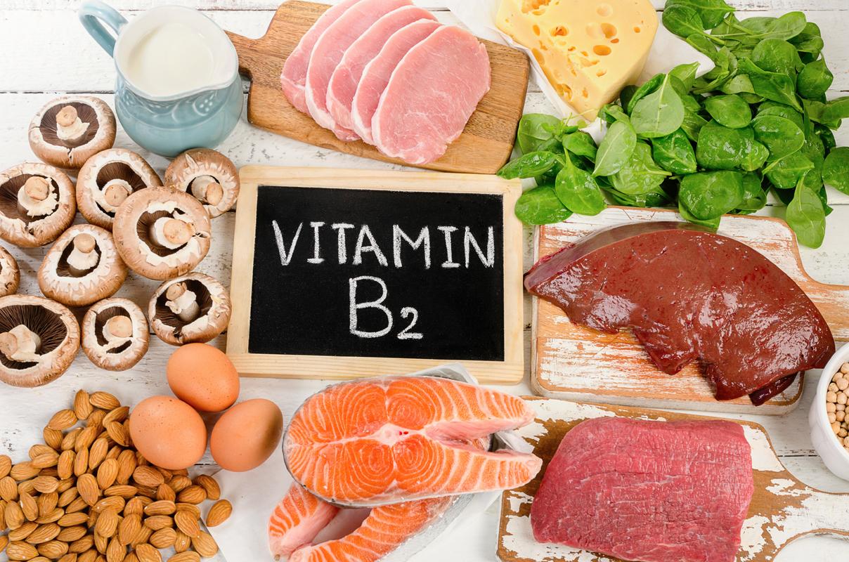 vitamine: la B2