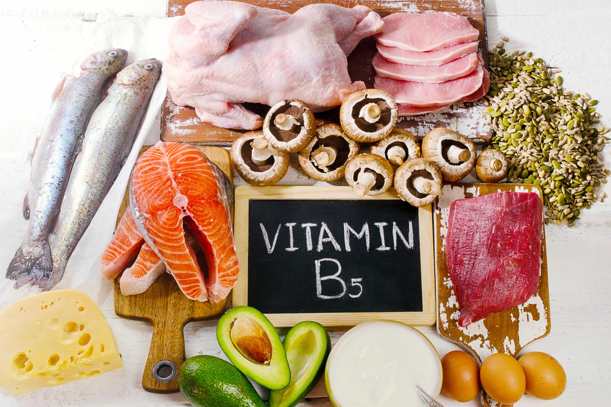 vitamine la B5
