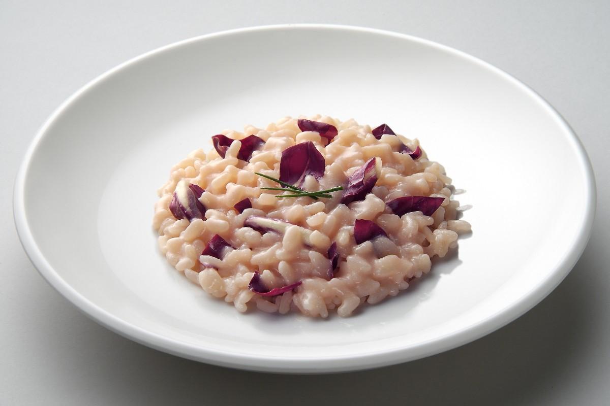 ricette detox - risotto radicchio