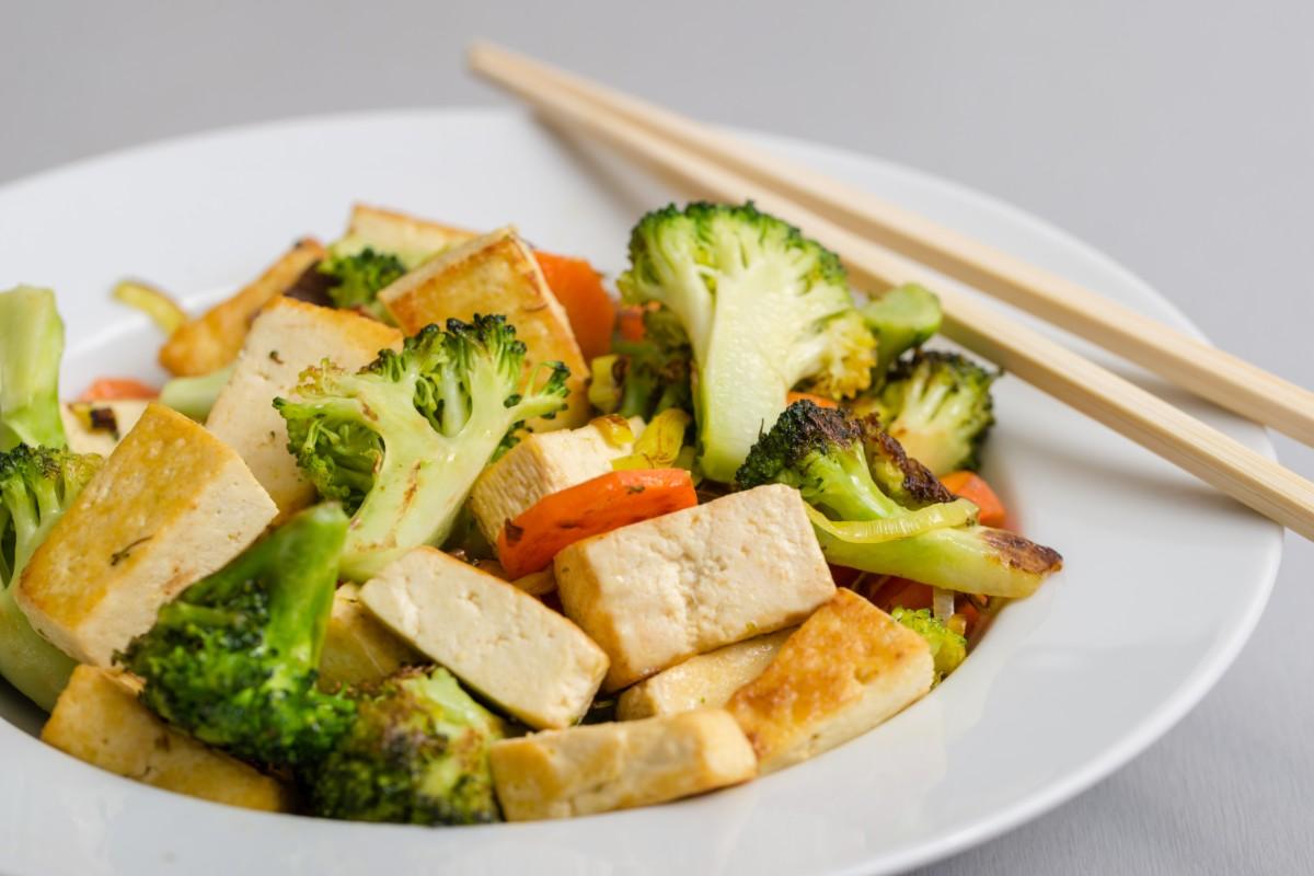ricette detox - broccoli e tofu