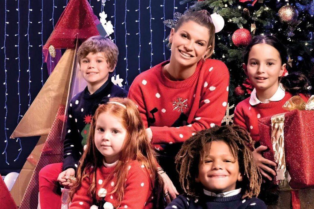 christmas jumper day maglione ovs alessandra amoroso