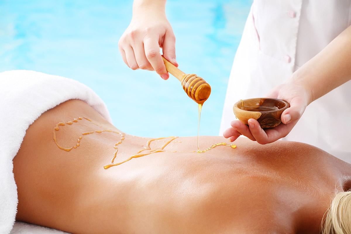 Il miele e l'arte del massaggio