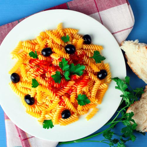 fusilli alle olive ricetta