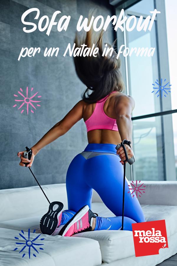 come rimanere in forma a Natale con la ginnastica da divano