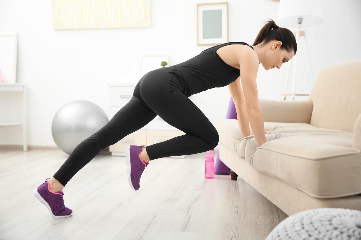 Ginnastica da divano: workout