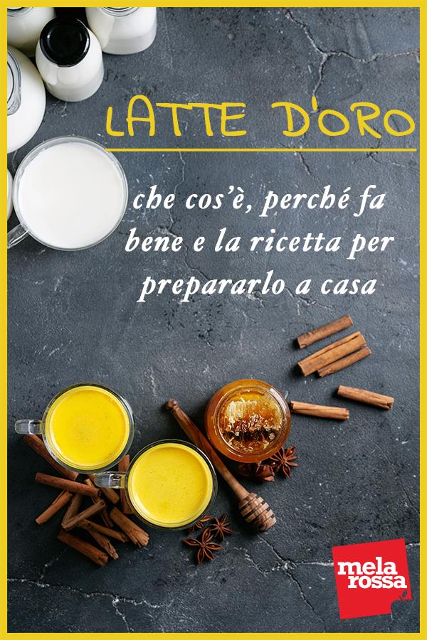latte d'oro: la ricetta