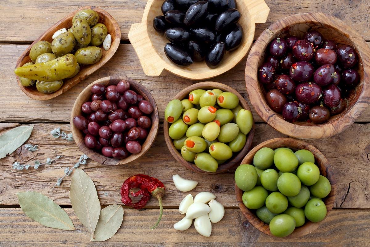 calorie delle olive