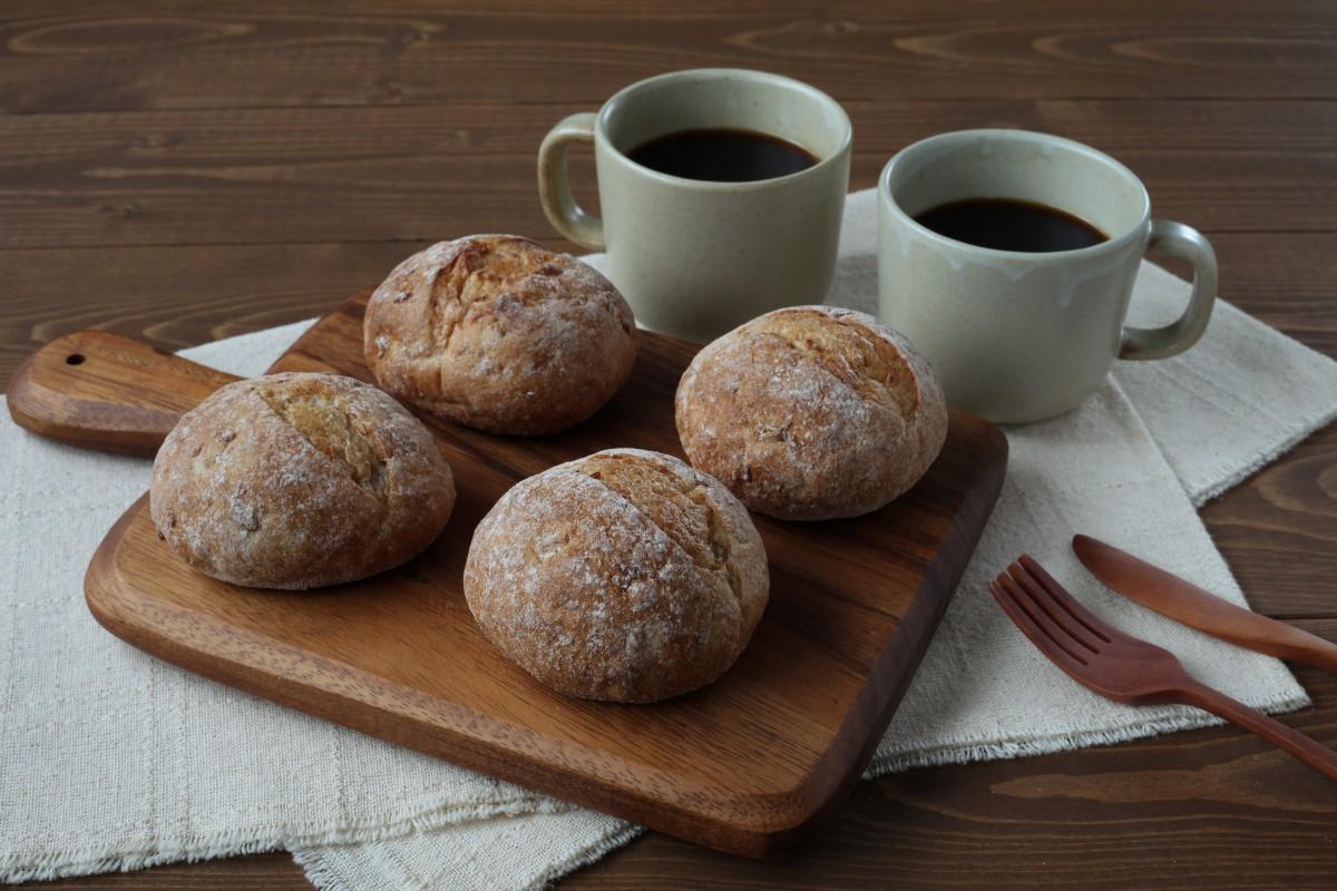 Pane di segale a colazione