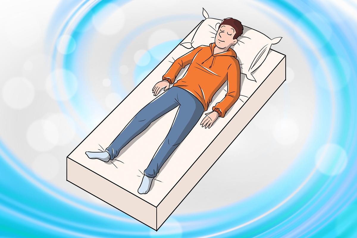 posizione supina: training autogeno