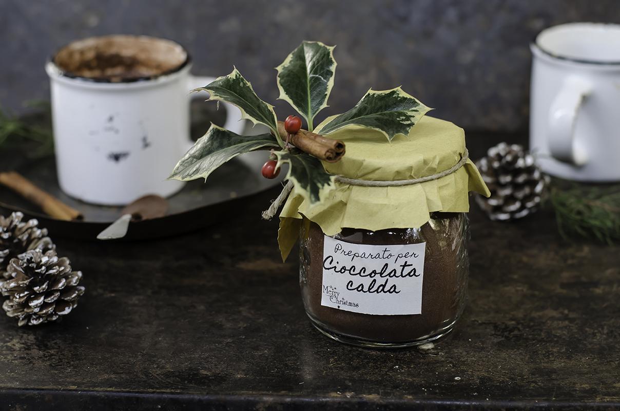 Regali golosi: preparato per cioccolata calda