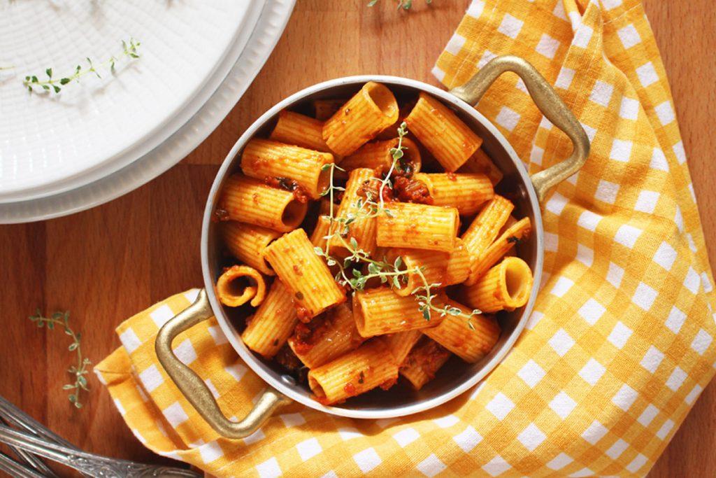 ragù vegetale ricetta