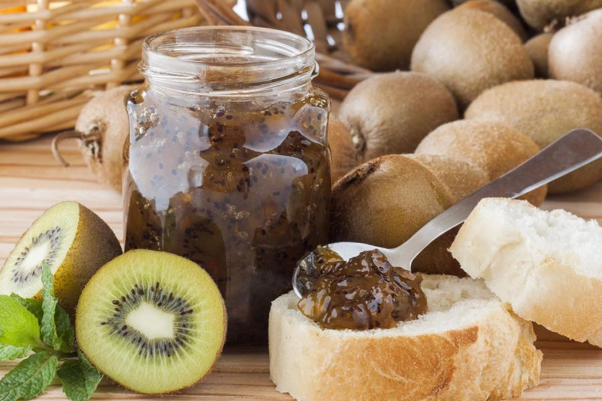 marmellata kiwi pere
