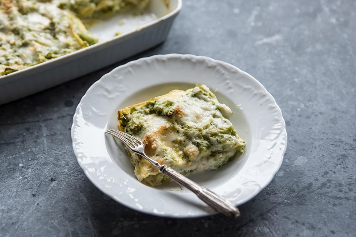 lasagne ai broccoli