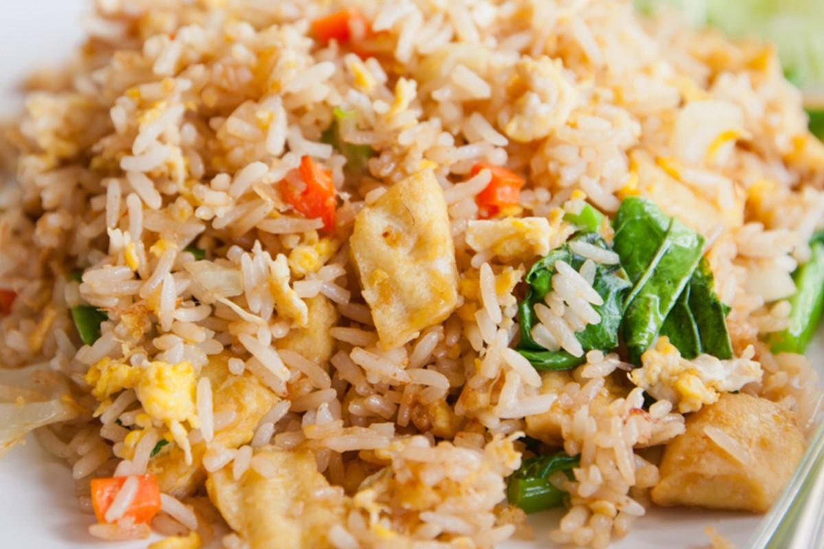 riso tofu e peperoncino
