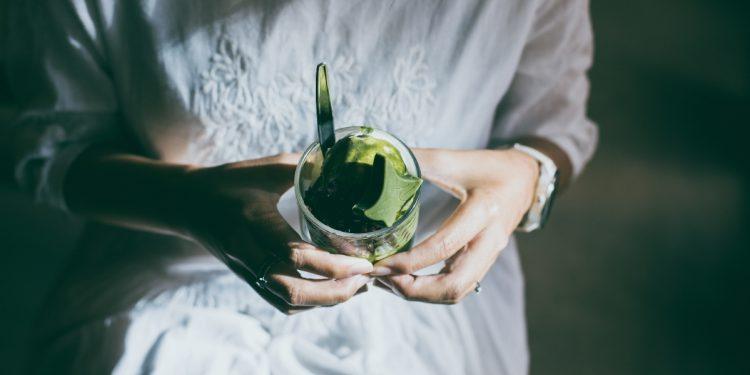 sorbetto al matcha: gelato con tè verde di matcha