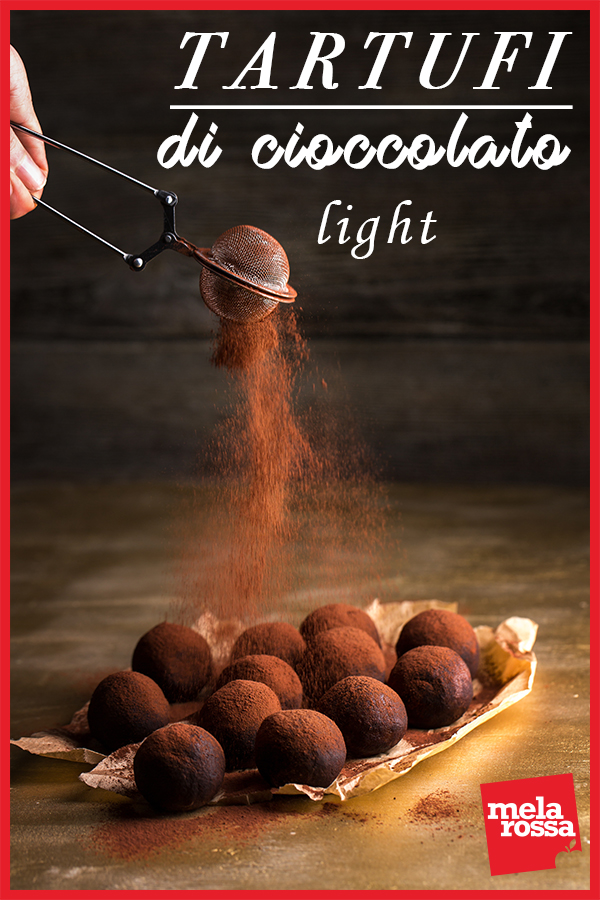 tartufi di cioccolato light: la ricetta con cacao e ricotta