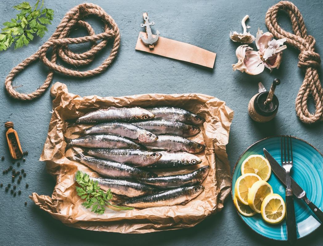 consumo di sardine: sclerosi multipla