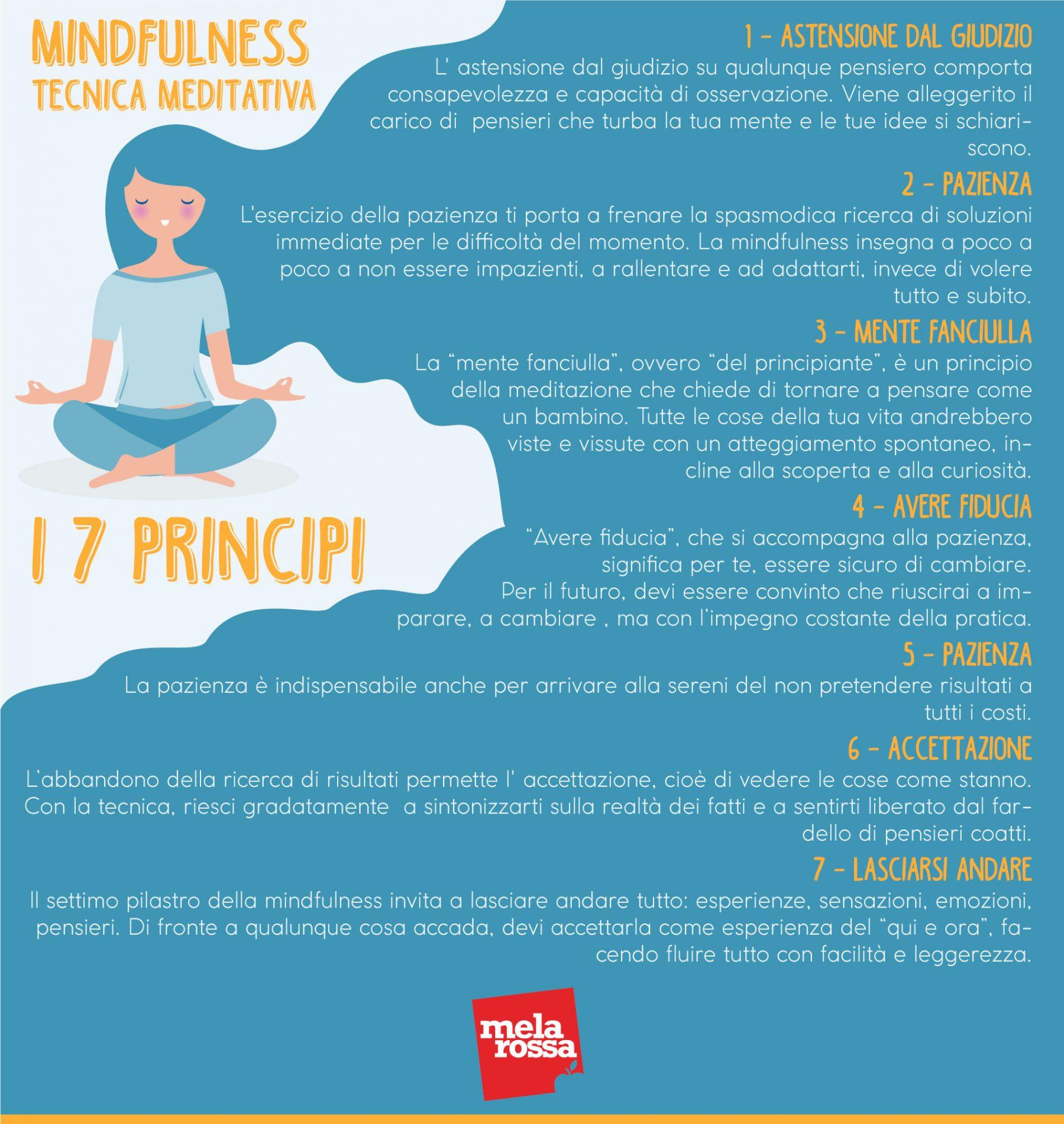 Mindfulness: i 7 principi nella pratica