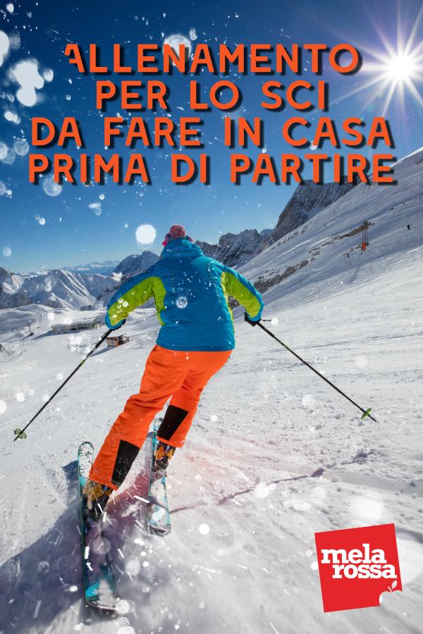 Allenamento per lo sci: programma da fare un mese prima