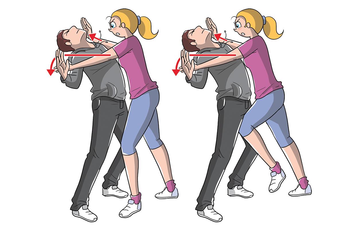 autodifesa: come colpire l'avversario
