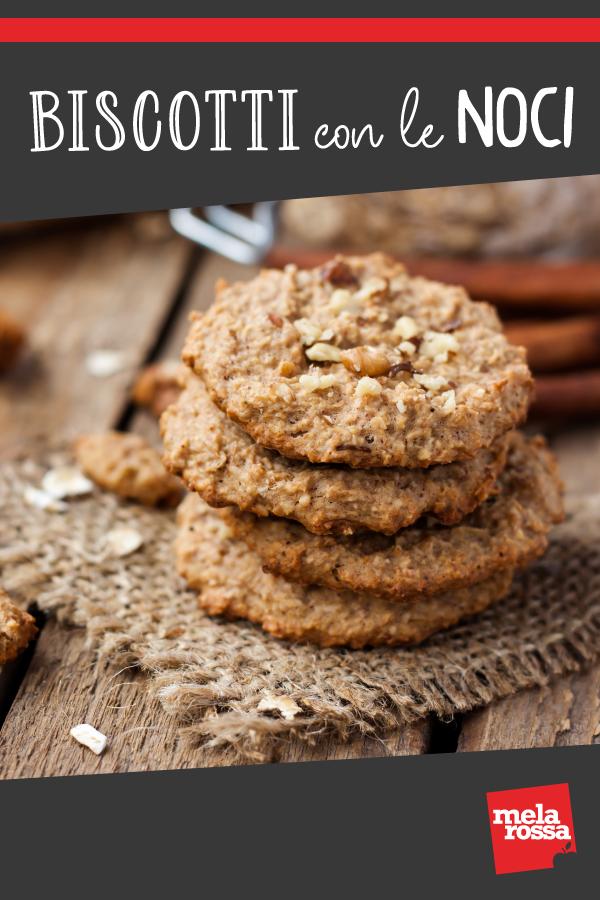 Biscotti con le noci, genuini e semplici da preparare