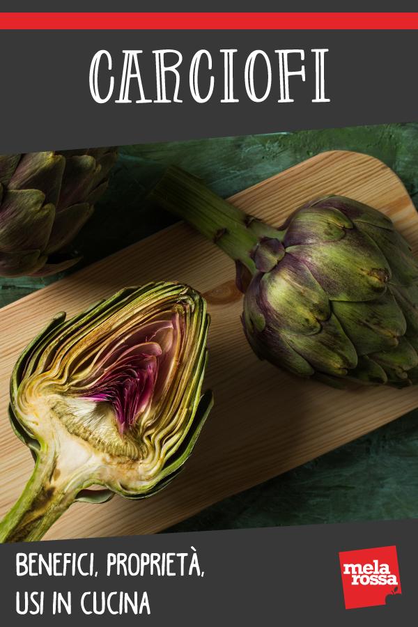 carciofi: valori nutrizionali, benefici e ricette