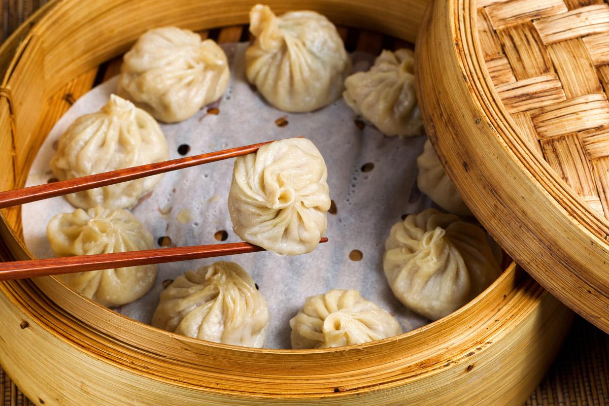 cucina cinese utensili ravioli al vapore