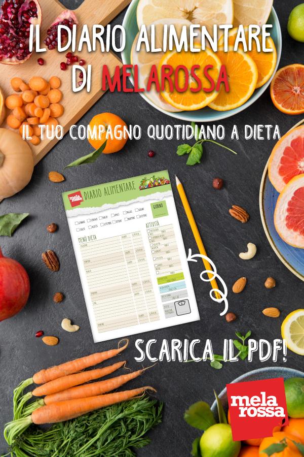 diario alimentare melarossa